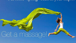 Spring Forward with Massage Therapy
