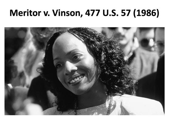 A leader in #MeToo: Mechelle Vinson