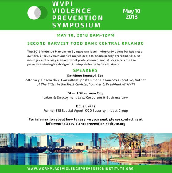 Violence Prevention Symposium