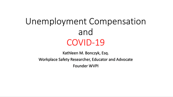 Here's why employees who stop reporting to work due to COVID-19 should be granted unemployment b