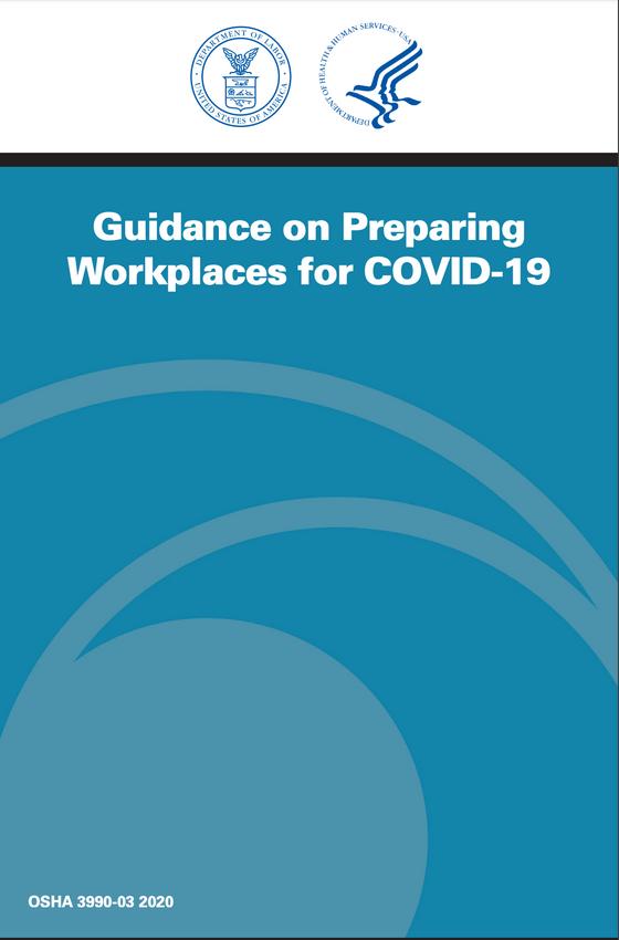OSHA COVID19 Workplace Safety Publication
