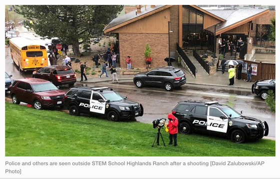 Another possible Columbine  Copycat at an American School