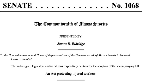 Massachusetts bill could provide more protection for employees who suffer workplace violence