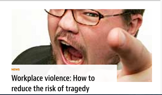My Recent Workplace Violence Prevention Interview