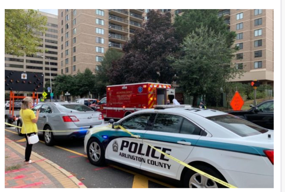 In Arlington, VA Today: Workplace Domestic Violence Shooting