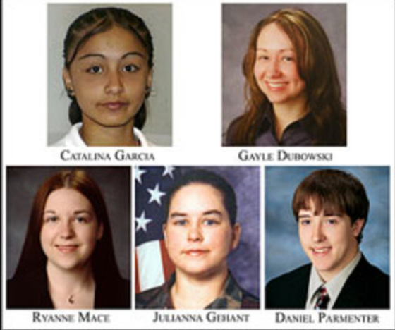 Two Valentines Day School Massacres: Two Former Students, Two Connections to Columbine