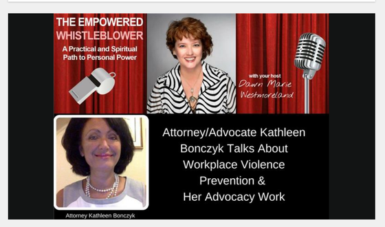 Kathleen's interview on the Empowered WhistleBlower Podcast