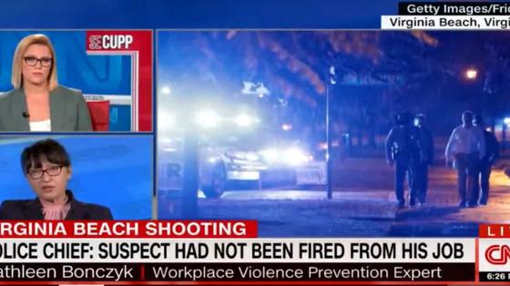 WVPI Executive Director addresses Workplace Violence on CNN