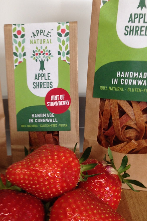 Apple Shreds Hint of Strawberry