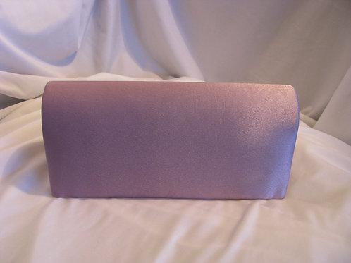 Basic Satin Clutch- Lavender or Lt Pink