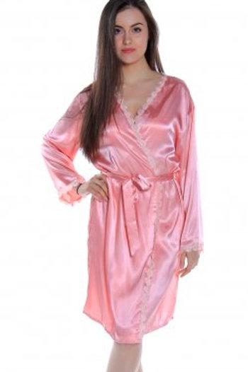 Satin Look Robe