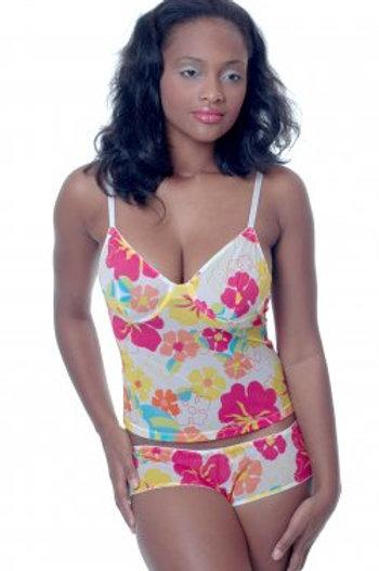 Floral Print PJ Set