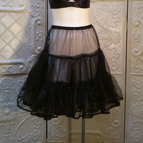 Knee Length Classic Petticoat Sheer Poodle Skirt