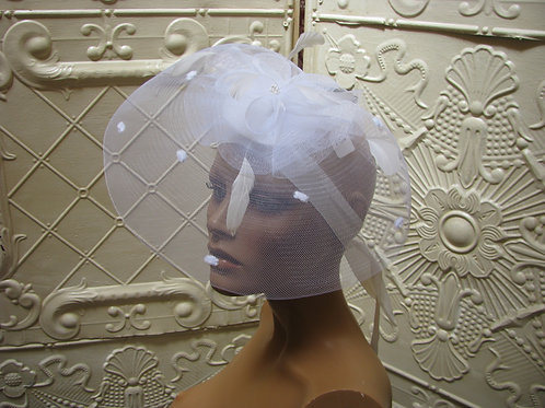 Tea Party Glamour Fascinator Bring the Drama