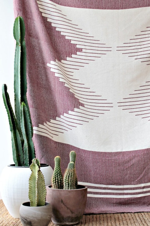 Nazca Blanket - Plum