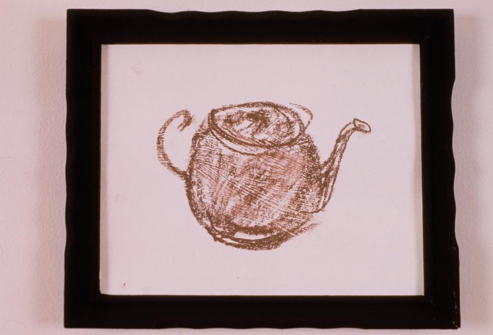 1989 - Brown Teapot Drawingl
