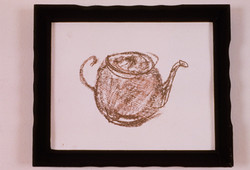 1989 - Brown Teapot Drawingl