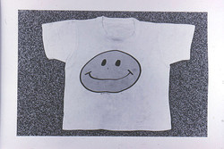 Smiley Face t-shirt -[-]