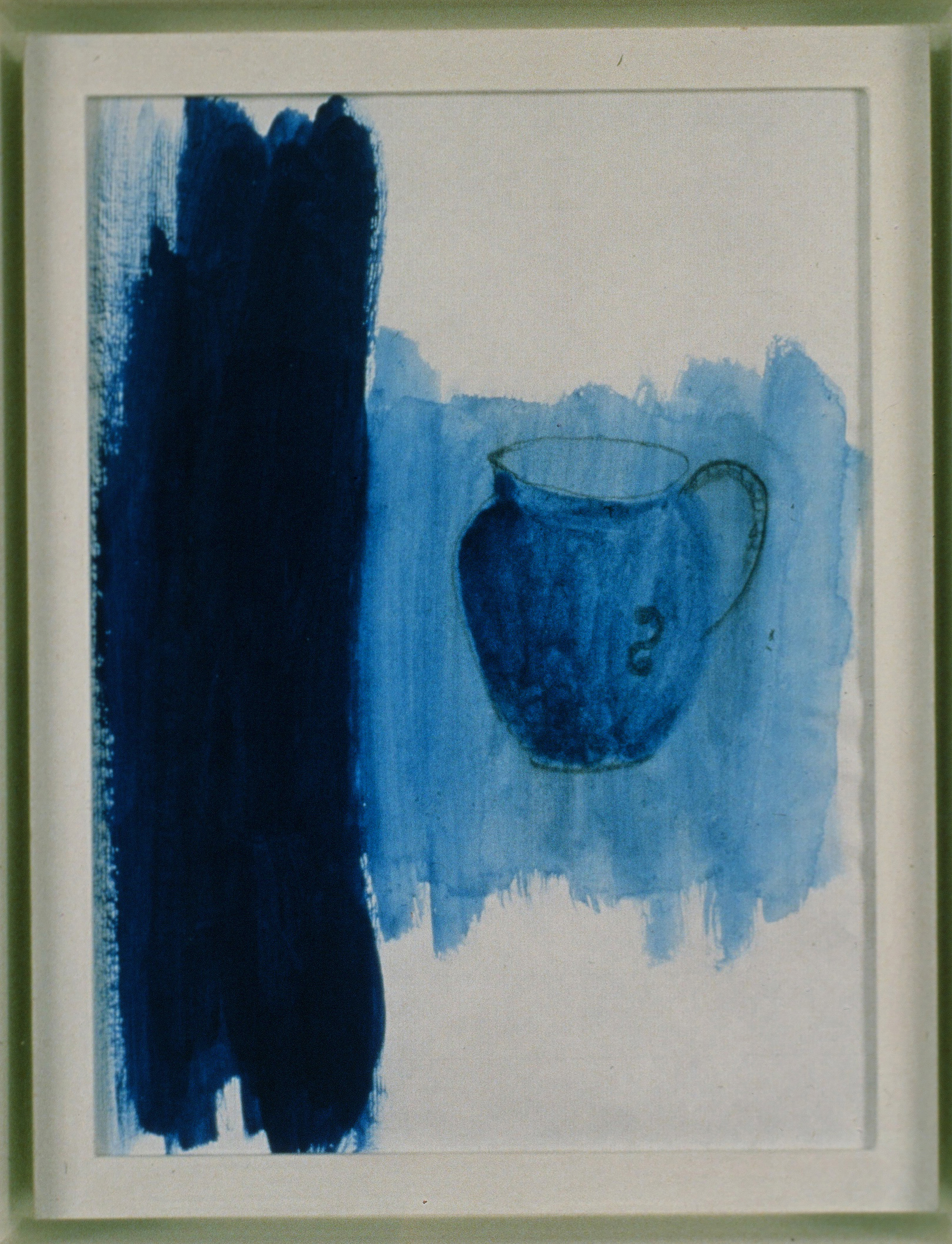 1990 - Blue Drawing