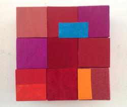 Red, orange, blue - 2018