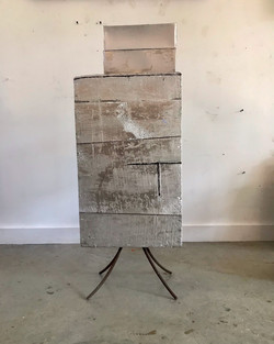 Silver Boxes - A Drawing on 4 legs - 2020