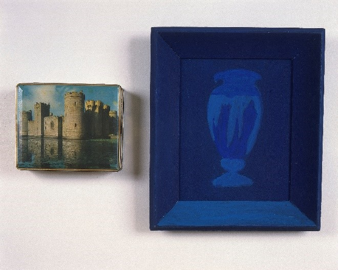 1987 - Castle and Blue Vase