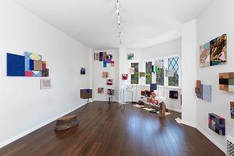 Parker Gallery show installation - 6-21