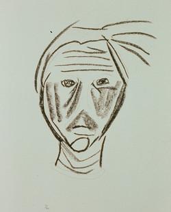 1991 - Self Portrait in Line