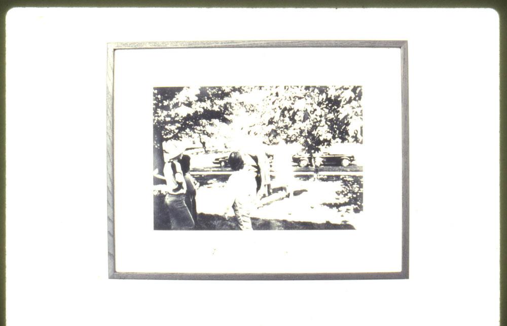 Black and White Photo -[-]