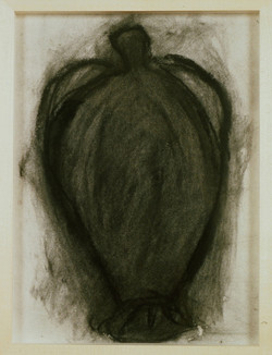 1991 - Charcoal Vase Drawing