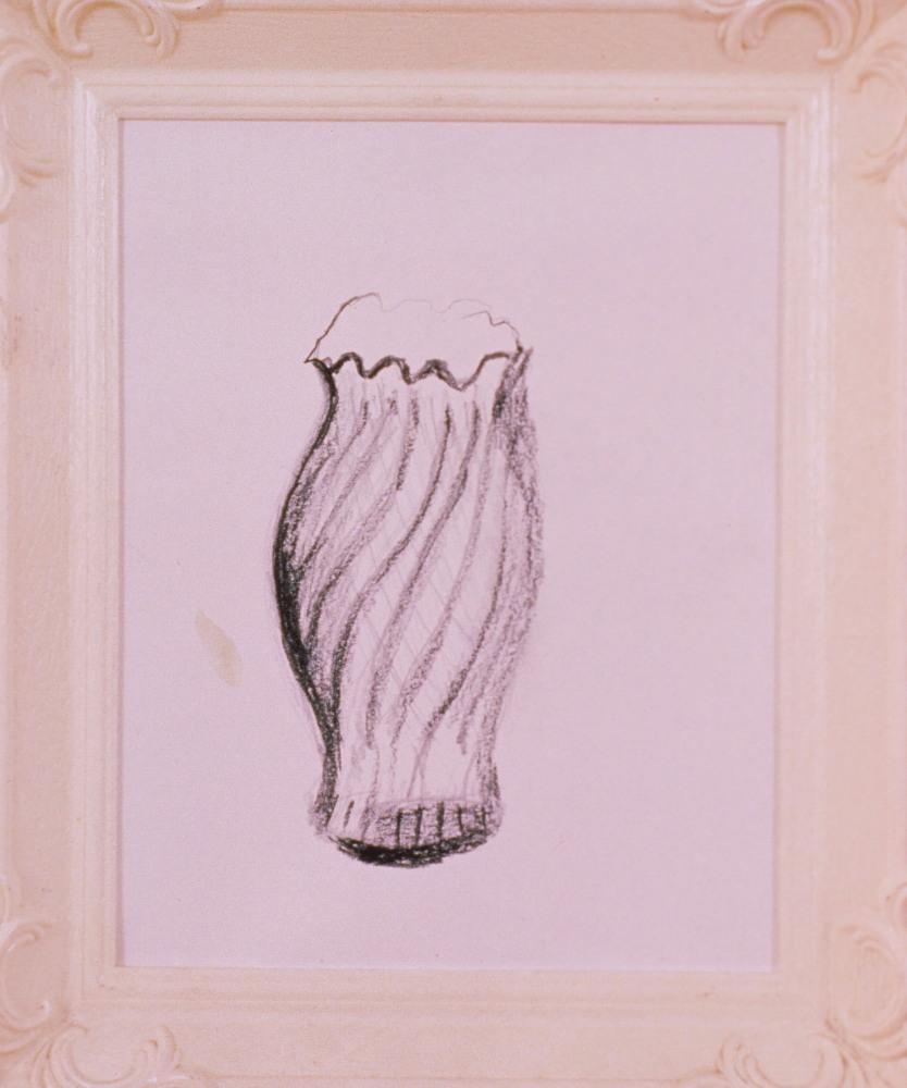 1989 - White Vase Drawing