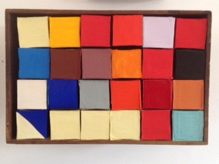 2002-Colored Square Boxes....