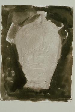 1991 - Two Vase Drawings...