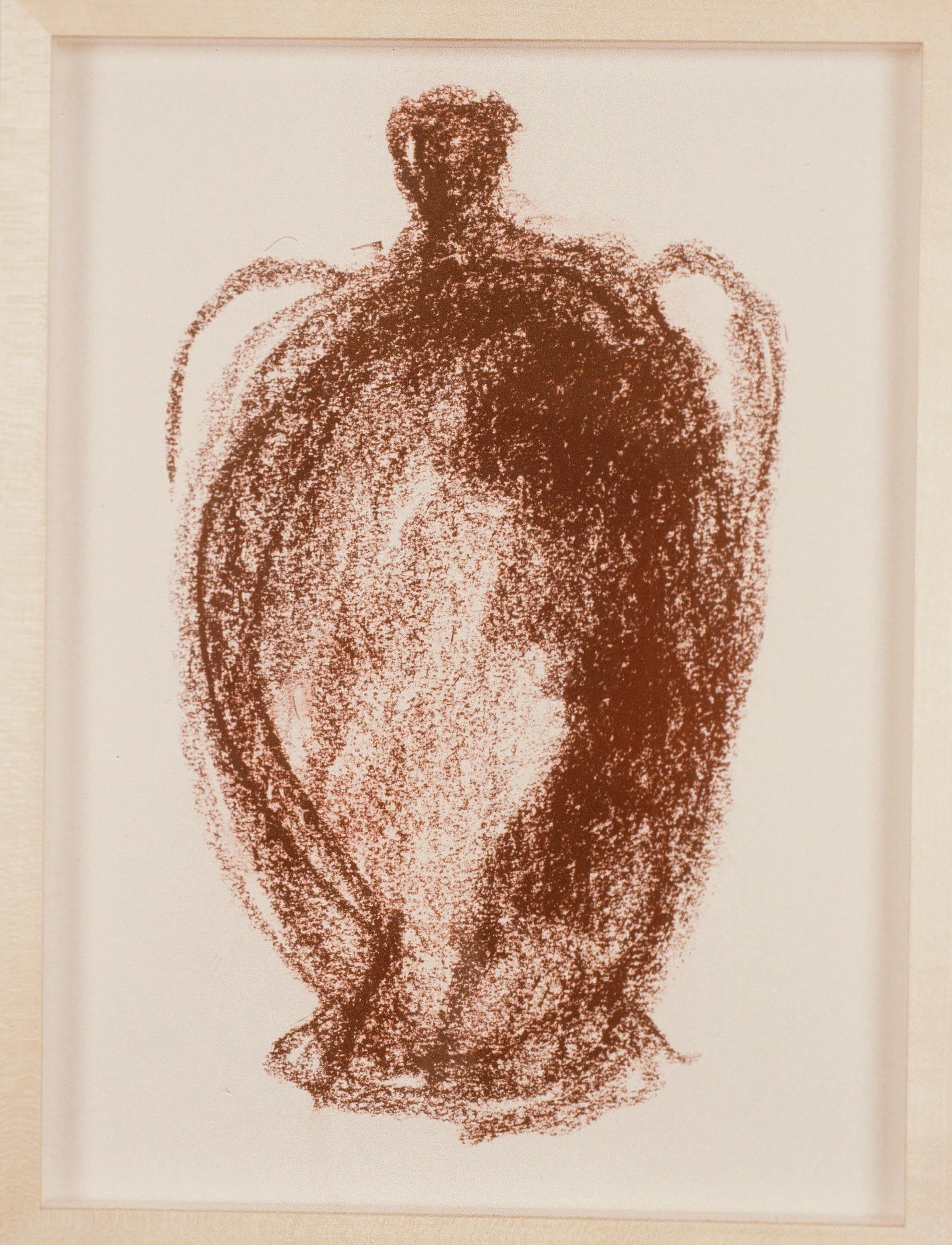 1991 - Vase in Conte Crayon