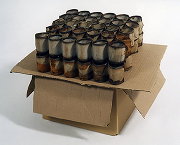 2006 - Egg Crates on Cardboard Box