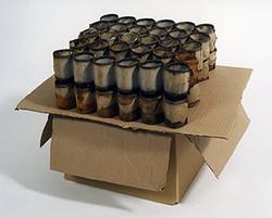 2006 - Egg Crates on Cardboard Box