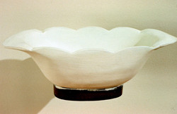 1989 - White Wooden Bowl