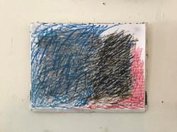 Scribble Drawing - 2021  - pastel