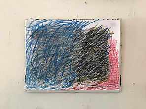 Scribble Drawing - 2021 - pastel - small