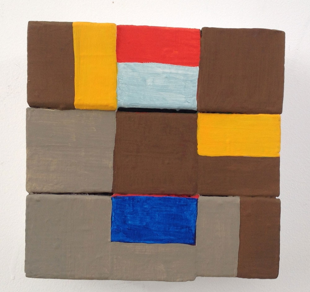 1995 - Brown Squares & Rectangles