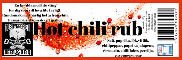 Hot Chili Rub