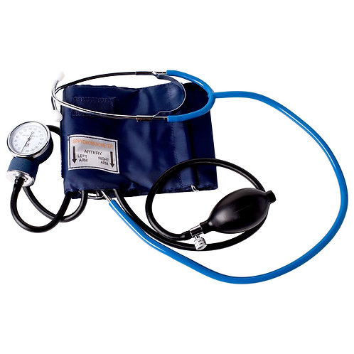 Stethoscope and BP cuff combo