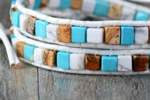 Prophecy Square Beaded Bracelet