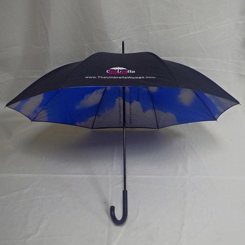 """""""Sky's the Limit"""" (cloud umbrella)"""