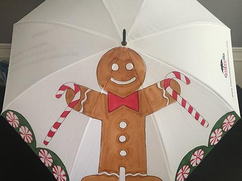 Gingerbread Man Umbrella Painting Kit