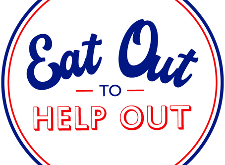 We are part of the the Eat Out to Help Out scheme every Monday to Wednesday until the 31st August