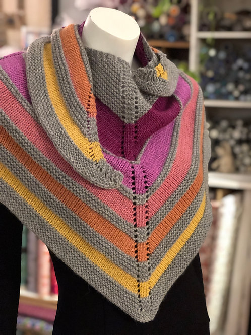 Madeline Shawl in Galway & March Hare