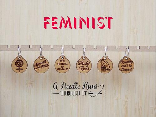 Stitch Markers, Feminist