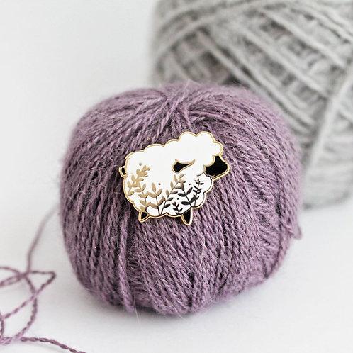 Enamel Pin, Sheep