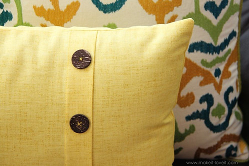 Discovering Pillows Sewing Series